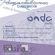 Cartel Centro de Formación Prado
