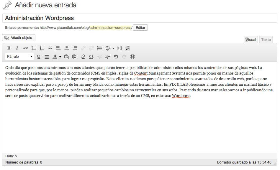 Administración de WordPress 03