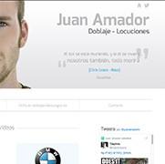 Juan Amador - Actor de doblaje